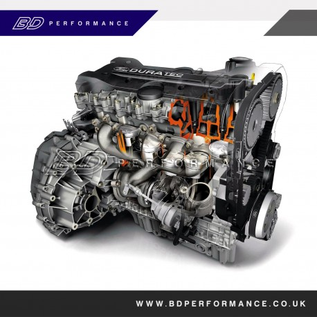 Ford Focus RS Engine JZDA (2009-2012)