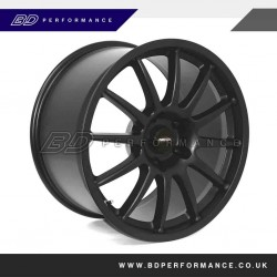 "Ford Focus 19"" Team Dynamics PRO RACE 1.3 Black Alloy Wheels"