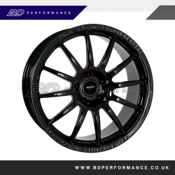 "Ford Focus 18"" Team Dynamics PRO RACE 1.2 Black Alloy Wheels"