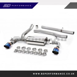 RS MK3 Milltek Cat Back Non-Resonated Exhaust System