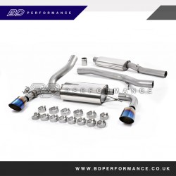 RS MK3 Milltek Cat Back Resonated Exhaust System