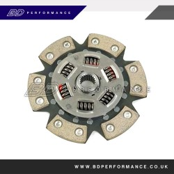 Helix - 6 Paddle Clutch & Solid Flywheel
