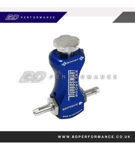 TurboSmart Boost-Tee (Boost Controller) - Blue