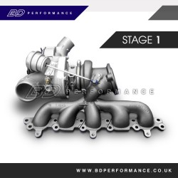 Ford Focus RS Stage 1 Hybrid Turbocharger Upgrade