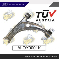 SuperPro Control Arm Lower Complete Alloy Assembly