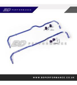 SuperPro 24mm Front Adjustable & 24mm Rear Adjustable Sway Bar Kit