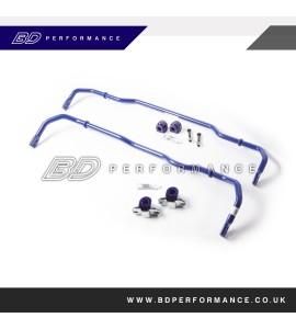 SuperPro 24mm Front Adjustable & 22mm Rear Adjustable Sway Bar Kit