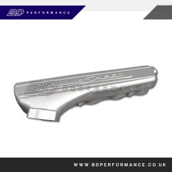 Focus ST/RS - PS Custom Tapered Inlet Plenum (Silver)