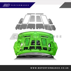 Focus RS305 & Facelift ST225 - Under Bonnet Plate Kit