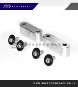 Focus MK2 ST/RS Bonnet Spacer Blocks