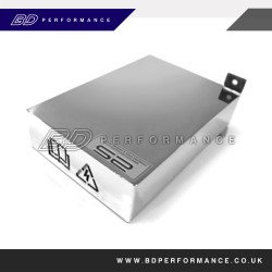 ST Polished Finish - Full ECU Cover for Cold Feed Air Filter Kits