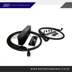 Focus MK2 ST/RS Remote Oil Cooler Kit - Top Grille Mounted