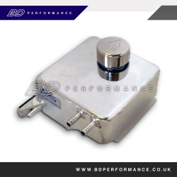 Focus Mk2 Light-Weight Polished Alloy Water Header Tank