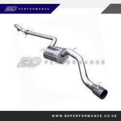 Ford Focus RS Mk1 Mongoose CAT Back System