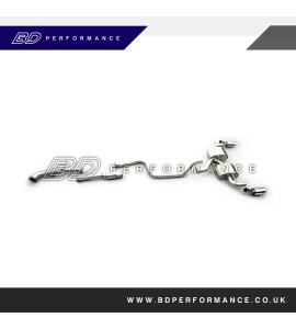 Ford Focus ST Milltek Turbo Back (Sports CAT)