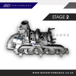 Ford Focus ST Stage Two Turbocharger Upgrade
