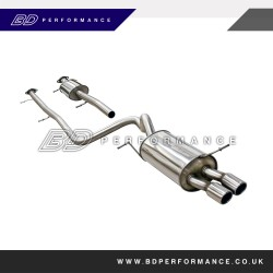 Ford Fiesta Zetec S Mk7 Milltek CAT Back System (2008 Onwards)