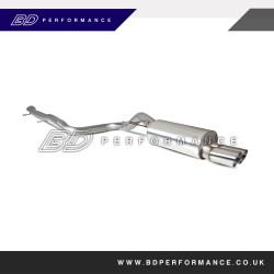 Scorpion Fiesta ST180 1.6 Ecoboost 3 Inch Cat Back Exhaust (Non Resonated)