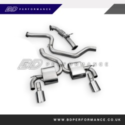 Focus RS Mk2 Milltek Sport Cat Back Exhaust System