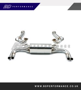Milltek Audi R8 V10 5.2 FSI quattro Coupé and Spyder Cat-back