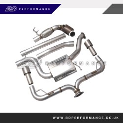 VW Golf MK7 2.0T GTI & R Downpipe and High Flow Cat Volkswagen Racing Parts