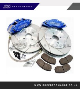 HiSpec 4 pot (Monster 4) road brake kit: Ford Focus ST225 2.5 360x28mm