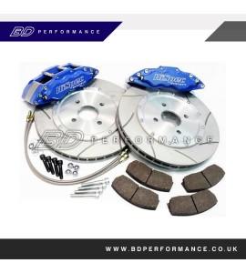 HiSpec 6 Pot (Monster 6) Road Brake Kit: Ford Focus ST225 2.5 360x28mm