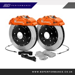Focus RS MK2 K-Sport 8 Pot 356mm Front Big Brake Conversion