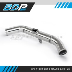 BDP Top Induction Pipe / Crossover - Black or Polished (RS305)