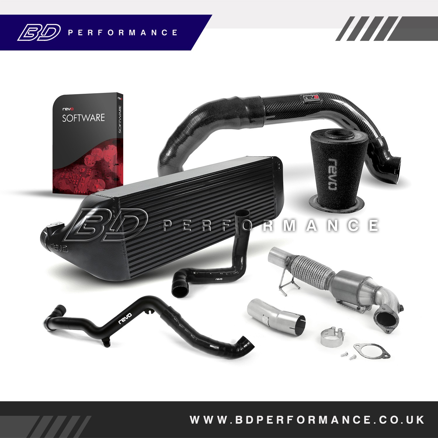 Focus RS MK3 Revo Stage 2 Performance Pack