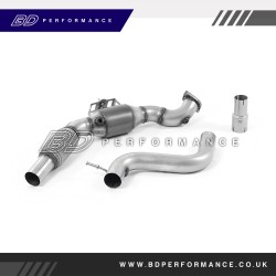 Milltek Downpipe with Sports Cat - Ford Mustang 2015 on