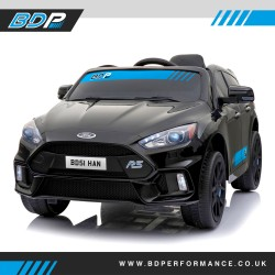Licensed Ford Focus RS 12V Children's Battery Ride On Car - Black