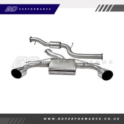 Focus MK2 RS - Cobra Cat Back Exhaust (Resonated)