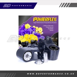 Powerflex Front Wishbone Rear Bush Anti-Lift & Caster Offset PFF19-1802GBLK