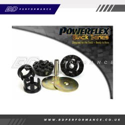 Powerflex Lower Engine Mount Large Bush 30mm Oval Bracket PFF19-2001BLK