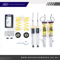 KW DDC - Plug & Play Coilovers inox - Focus MK3 RS