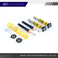 KW ST Coilovers ST XTA Galvanized Steel (adjustable damping with top mounts) Focus MK3 RS