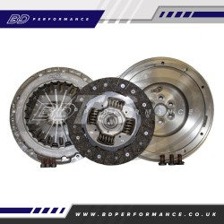 RTS Fiesta ST180 & ST200 Uprated Organic Clutch Kit with SMF