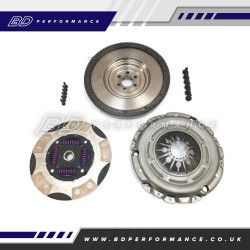 RTS Fiesta ST180 & ST200 Twin Friction Clutch Kit With SMF