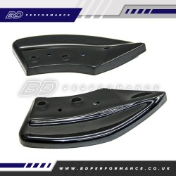 AUTOSPECIALISTS DESIGN REAR SIDE SPLITTERS FOR FIESTA MK8 1.0 ECOBOOST ST-LINE & MK8 ST200