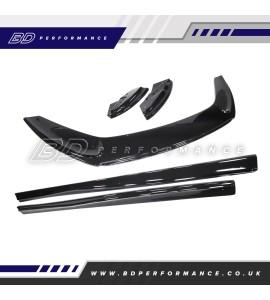 VUDU Low Line Splitter Kit - Fiesta ST180