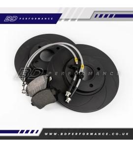 VUDU Upgraded Front Brake Kit - Ford Fiesta ST180/200 MK7