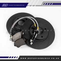 VUDU Upgraded Front Brake Kit - Ford Fiesta ST180/200 MK7