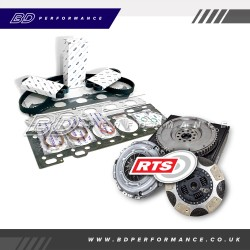 Block Mod & RTS Twin Friction Clutch Kit Workshop Completed (Focus ST225)